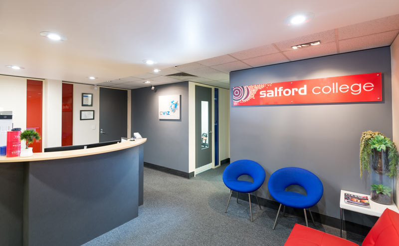 Salford-College Front Desk