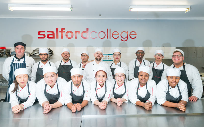 Salford-College Students