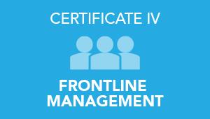 Certificate 4 of Frontline Management